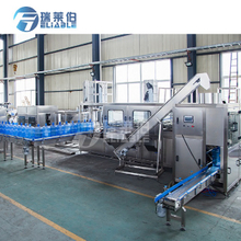 3 Or 5 Gallon Water Filling Machine Water Bottle Washing Filling Capping Machine